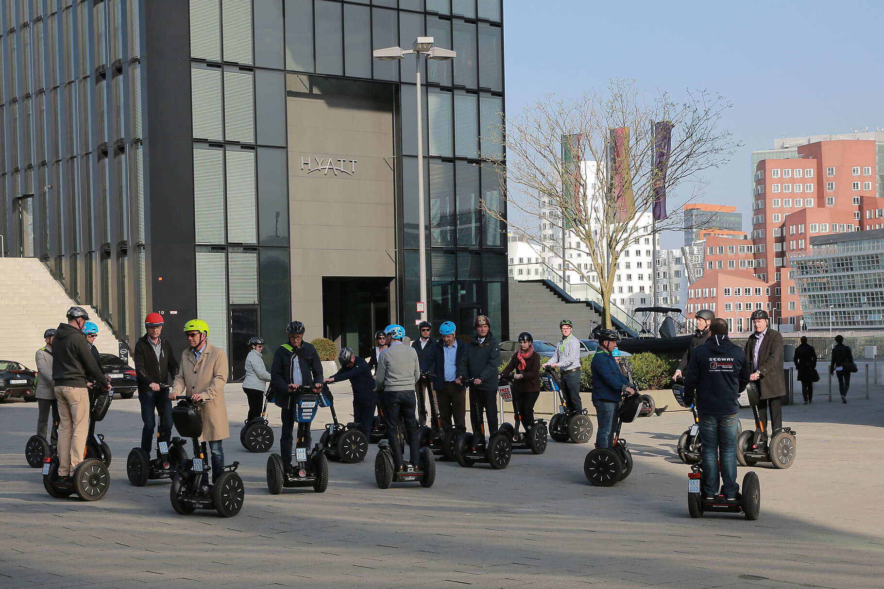 Segway Event Parcours