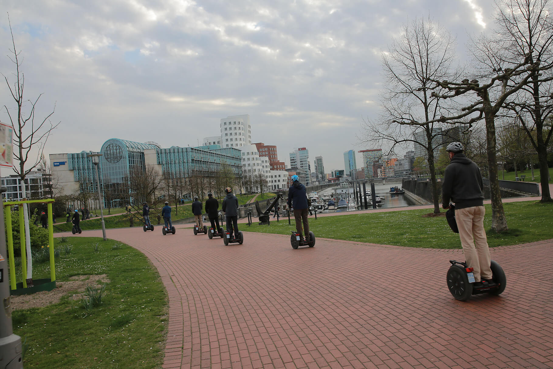 Segway Parcours Challenge