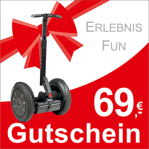 segway gutschein 69 euro segway d sseldorf. Black Bedroom Furniture Sets. Home Design Ideas