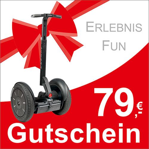 Segway Gutschein - 79,- EUR