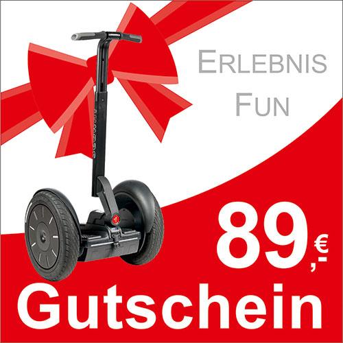 Segway Gutschein - 89,- EUR