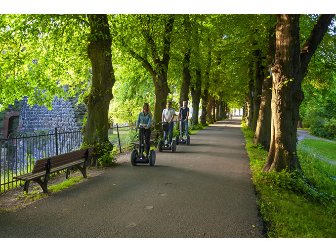 Segway Düsseldorf mit vielseitigem Angebot
